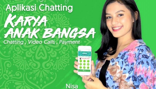 Startup Anak Negeri OTU Chat,  Bisa Chatting, Video Call  dan Payment Gateway