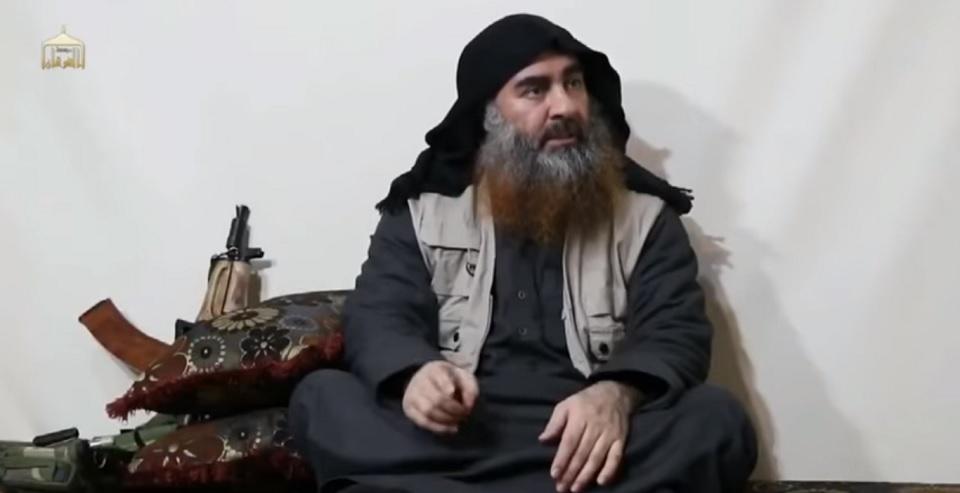 Video Baghdadi Bantah Klaim Rusia