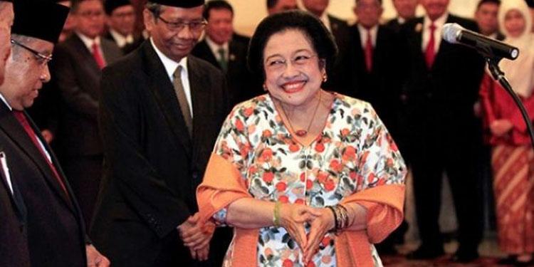 Cerita Lucu Megawati tentang Kiai Ma'ruf Amin
