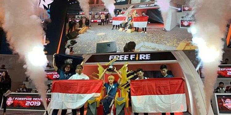 Indonesia Raih Juara Dunia FFWC 2019