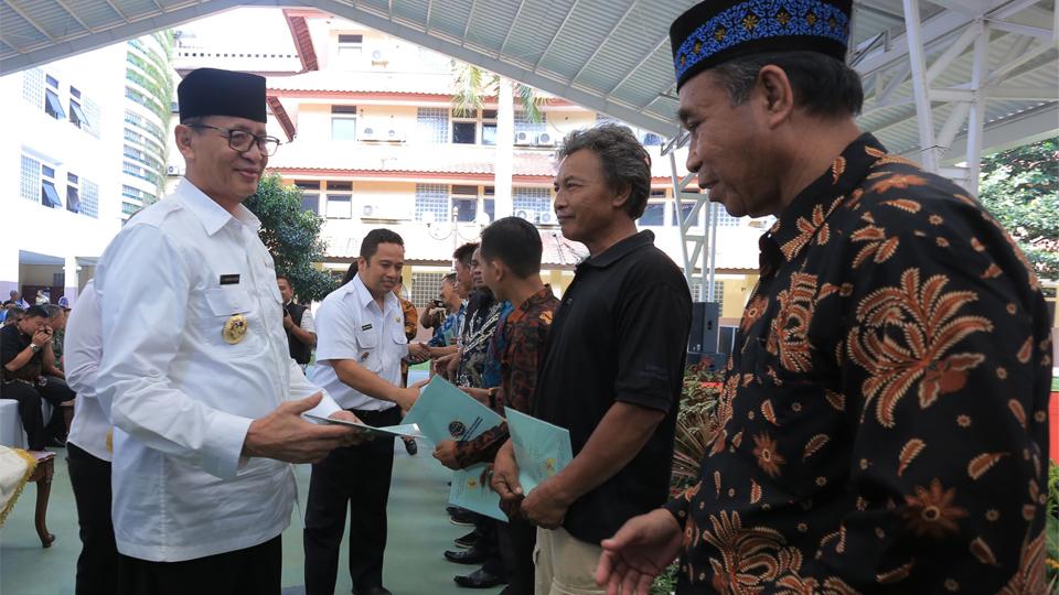 Tebar Sertifikat Gratis di Kota Tangerang