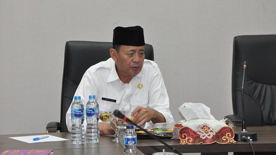 Gubernur Wahidin Soroti Proses Pengadaan Barang