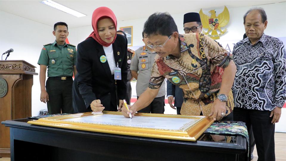 Zona Integritas di Pemkot Tangerang
