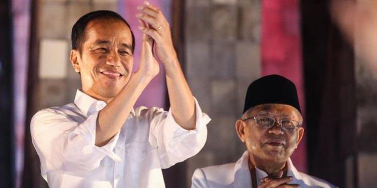 KPU Tetapkan Jokowi-Ma'ruf Amin Juara Pilpres 2019