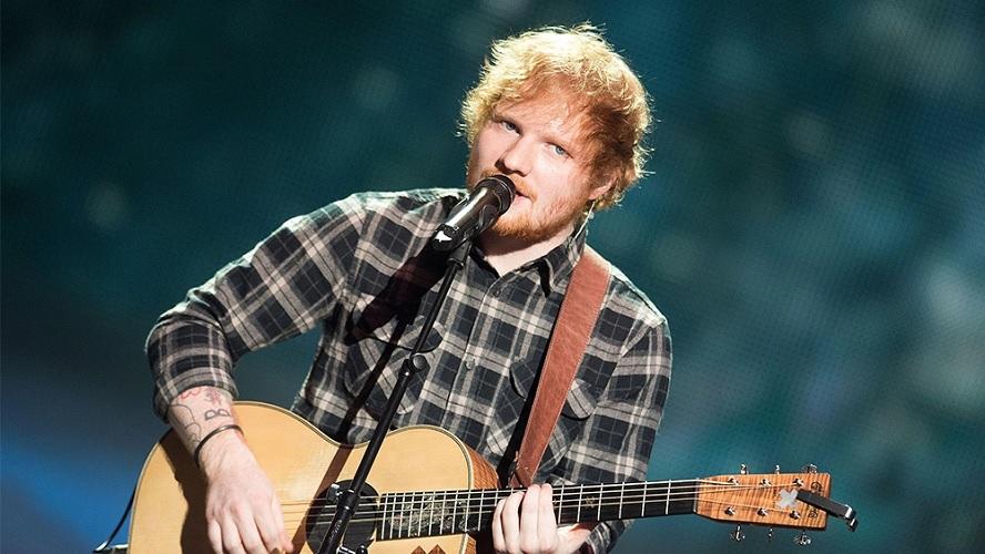 Ed Sheeran 'Kemecer' Mau Nikmati Kiriman Tempe Sambel Ijo dan Rendang