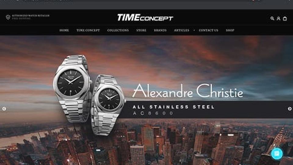 Belanja Jam Tangan di TimeConcept.com