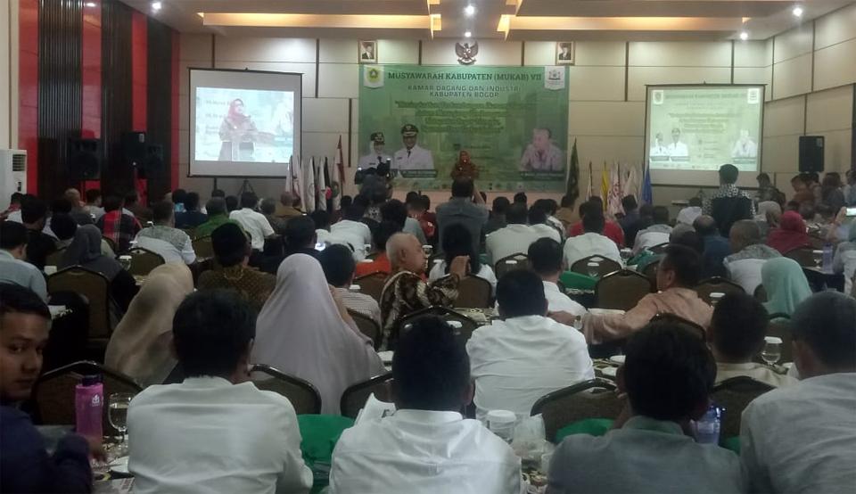 Rudy Bule Dipecat dari Ketua Kadin Kabupaten Bogor