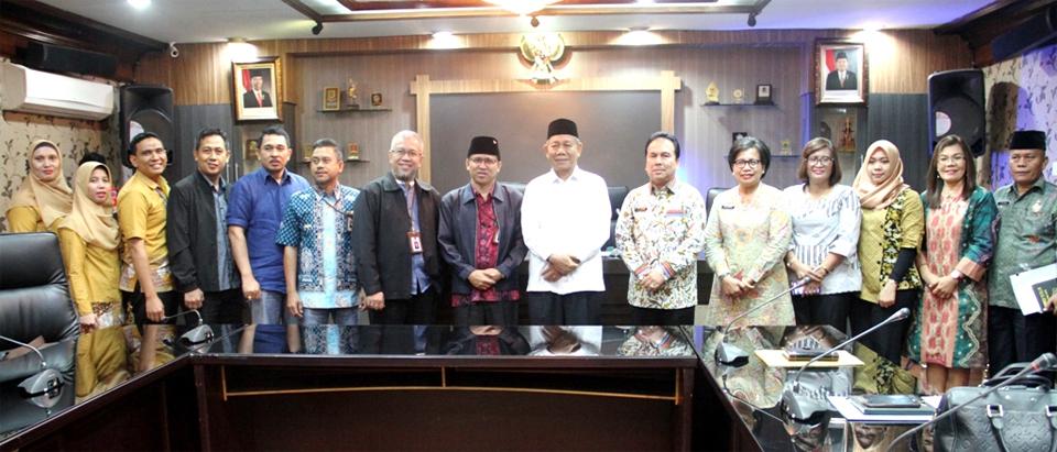 Pemko Medan Terima Dokumen Rekomendasi Penyelenggaraan Jaminan Sosial