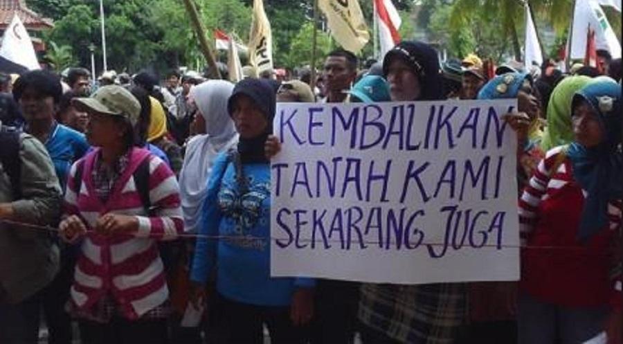 Jokowi Minta Konflik Pertanahan Dituntaskan