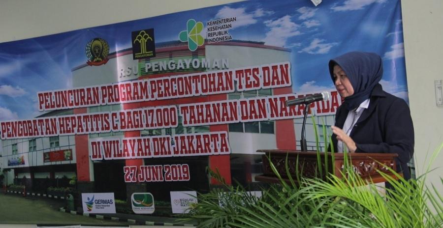 17.000 Penghuni LP di DKI akan Jalani Tes dan Pengobatan Hepatitis C