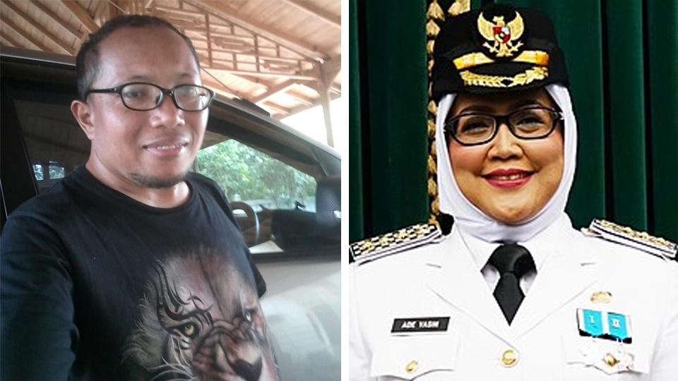 Rakyat Ancam Laporkan Bupati Bogor Ade Yasin ke KPK
