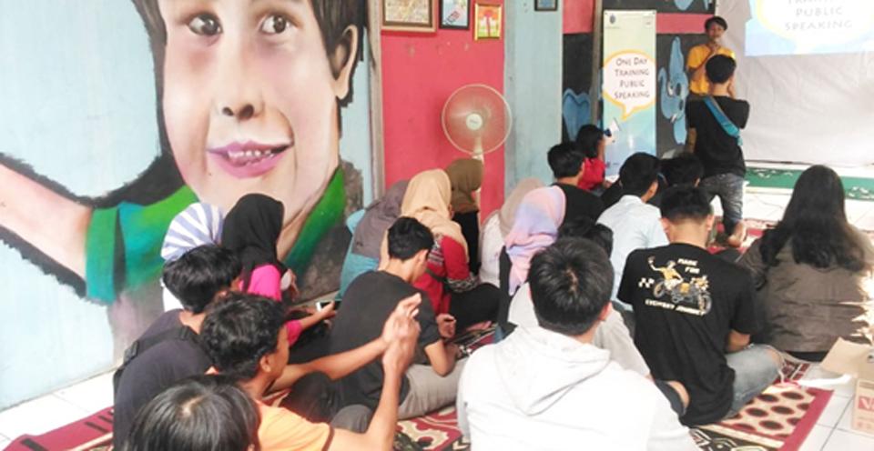 """""""Dare to Speak Out"""" Karang Taruna Aksara"""
