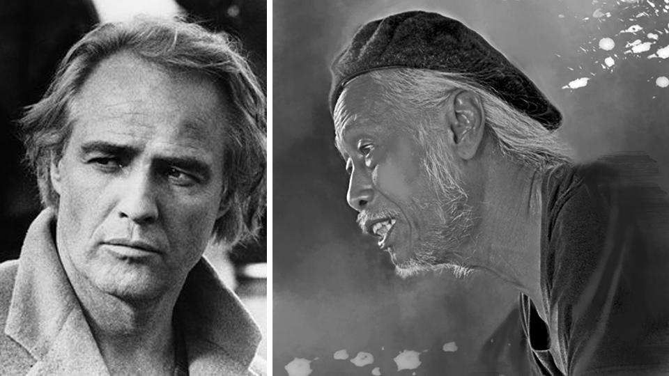 """Marlon Brando dan Meritz Hindra dalam """"Pusaran"""""""