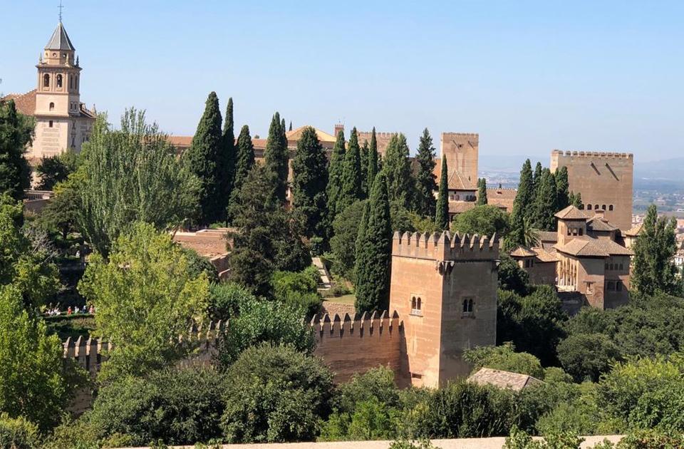 Ruang Bersiram di Benteng Alhambra