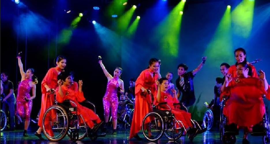 Anak-anak Difabel 'Ngedance' Bersama EKI Dance Company