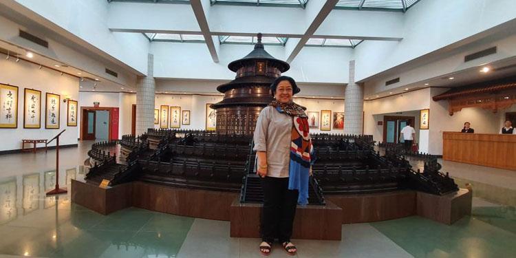 Megawati Kunjungi Museum Kayu dan Restoran Tempat Mao Zedong Jamu Soekarno