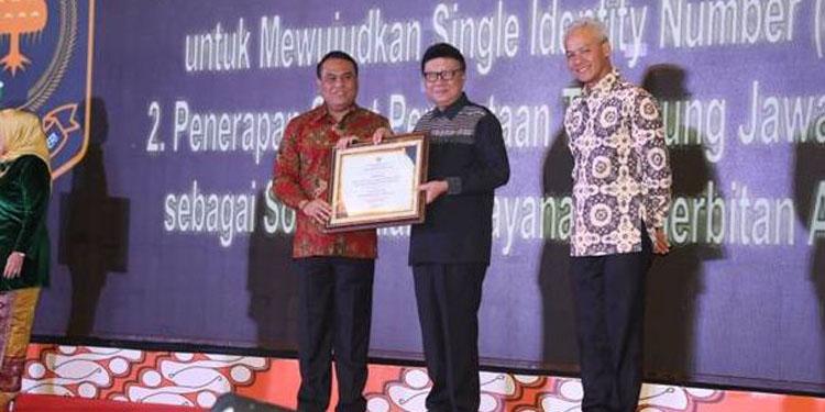 Kemendagri Raih Penghargaan Top 99 Inovasi Pelayanan Publik Tahun 2019