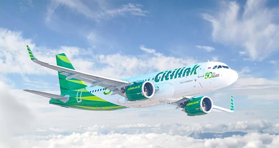 Terapkan New Normal, Citilink Mulai Layani 104 Penerbangan Reguler