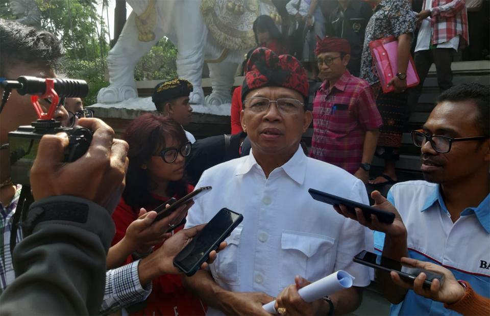 Gubernur Bali Menang di MA