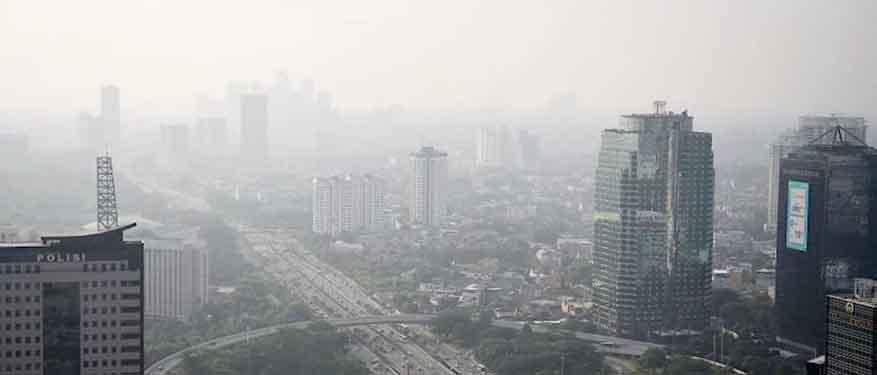 Ini Penjelasan BMKG tentang Buruknya Kualitas Udara Jakarta