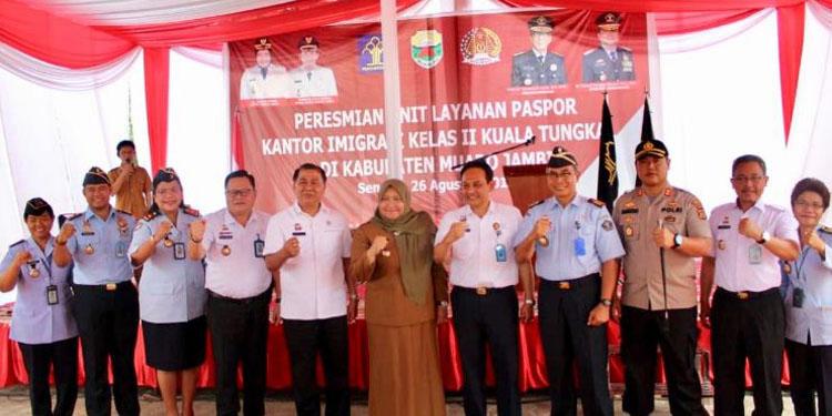 Akhirnya Kantor Imigrasi Kuala Tungkal  Punya UPL di Kabupaten Muaro Jambi