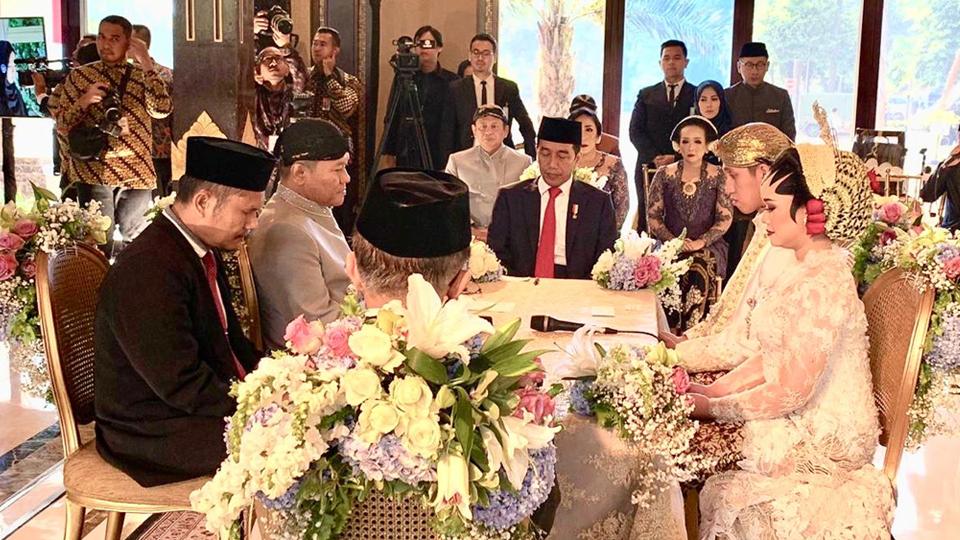 Bamsoet Mantu, Disaksikan Jokowi dan Jusuf Kalla