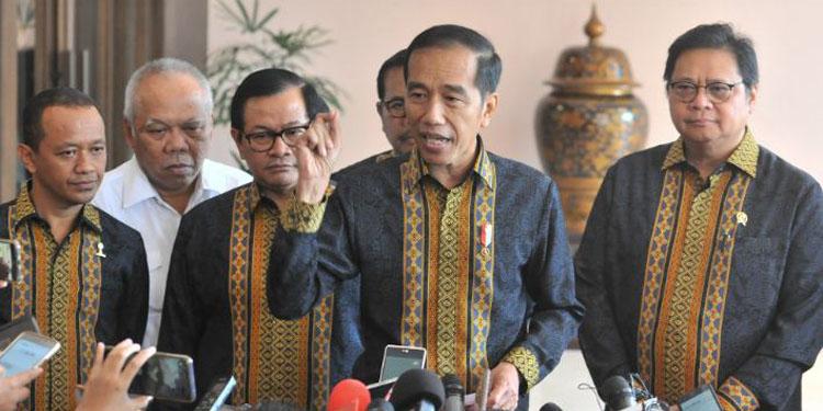 Jokowi Ingatkan Pimpinan KPK Bijak Dalam Bernegara