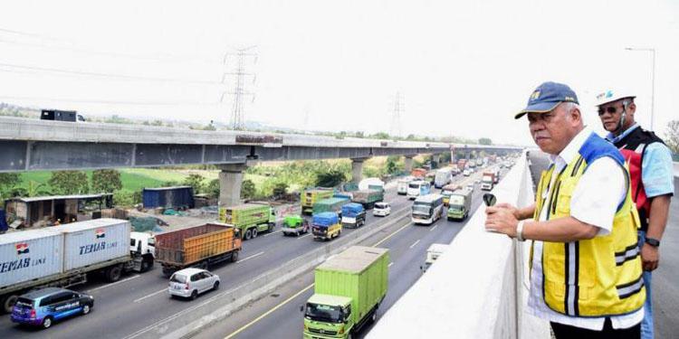 Hore..! Tol Layang Jakarta-Cikampek hampir Selesai, Senin Uji Coba