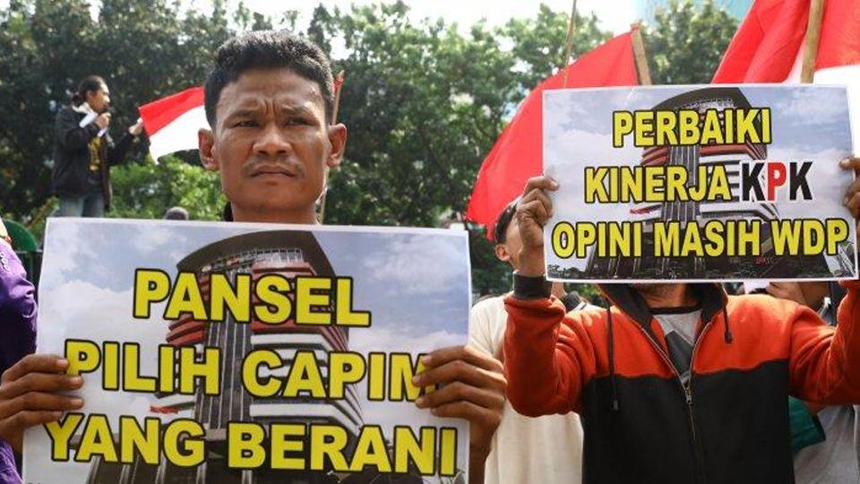 Jokowi Abaikan Fitnah Capim KPK