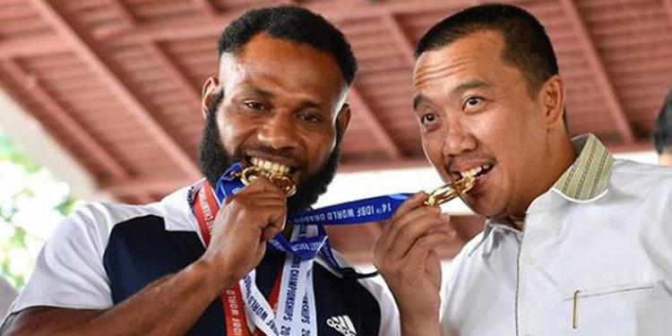Tim Dayung Indonesia Raih Juara Dunia, Kemenpora Beri Bonus Rp3,7 Miliar