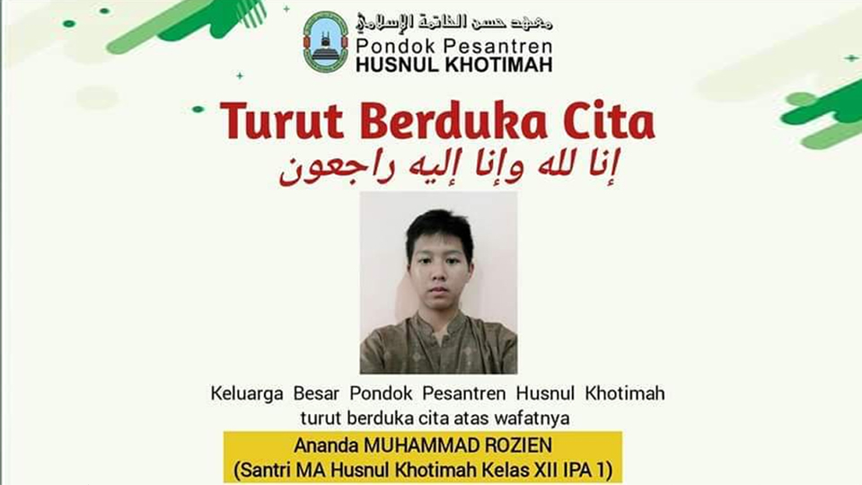 Penusuk Santri di Cirebon Sudah Tertangkap