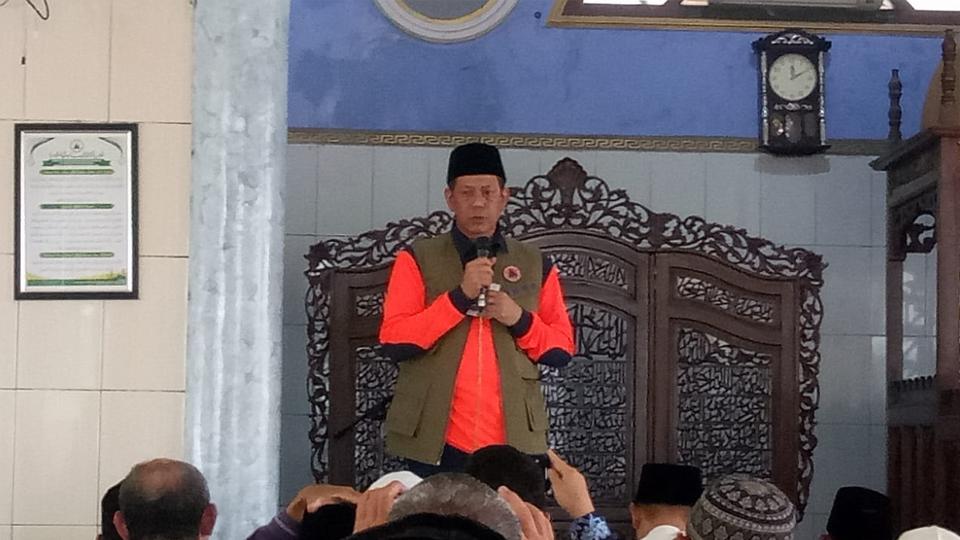 Tausyiah Jenderal Doni Monardo di Kalimantan