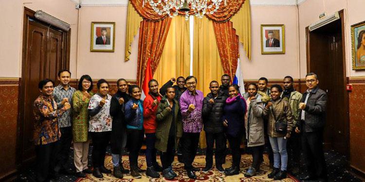14 Mahasiswa Asal Papua Dapat Beasiswa dari Pemerintah Rusia