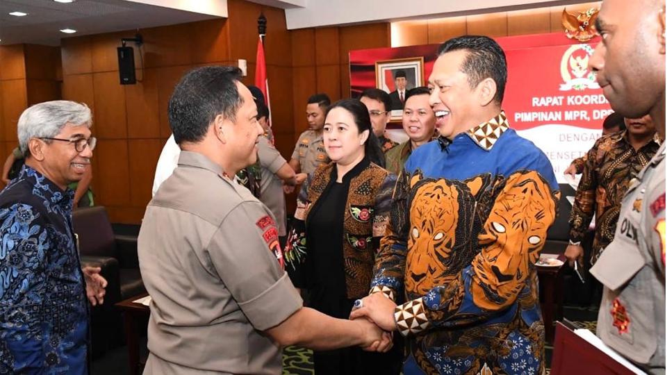 Jelang Pelantikan Presiden Situasi Keamanan Kondusif