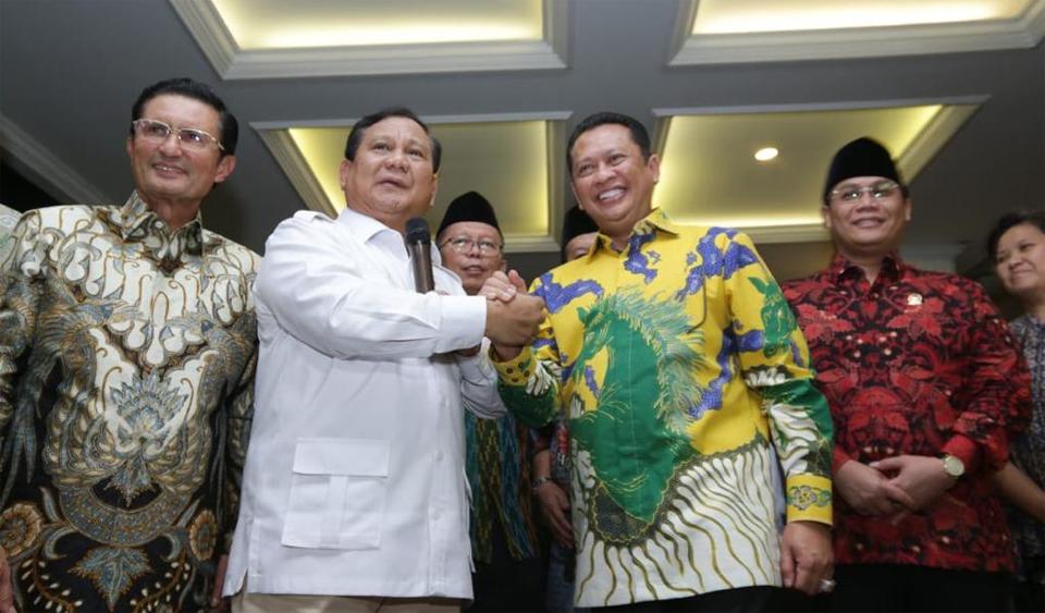 Bamsoet: Kata Prabowo Bersatu Itu Keren