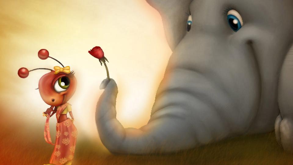 Kisah Semut Melawan Gajah