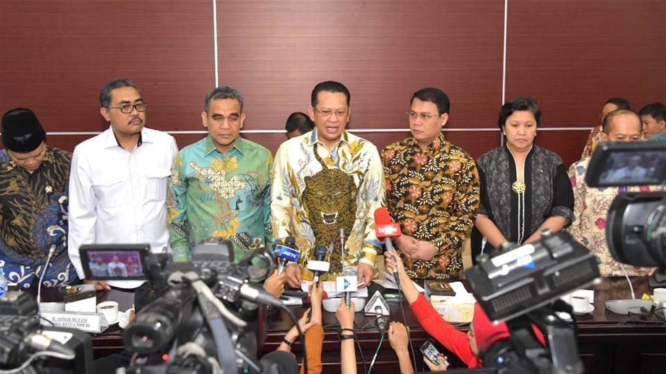 Rapat Gabungan Pimpinan MPR RI Sepakat Pelantikan Presiden Pukul 14.30 WIB