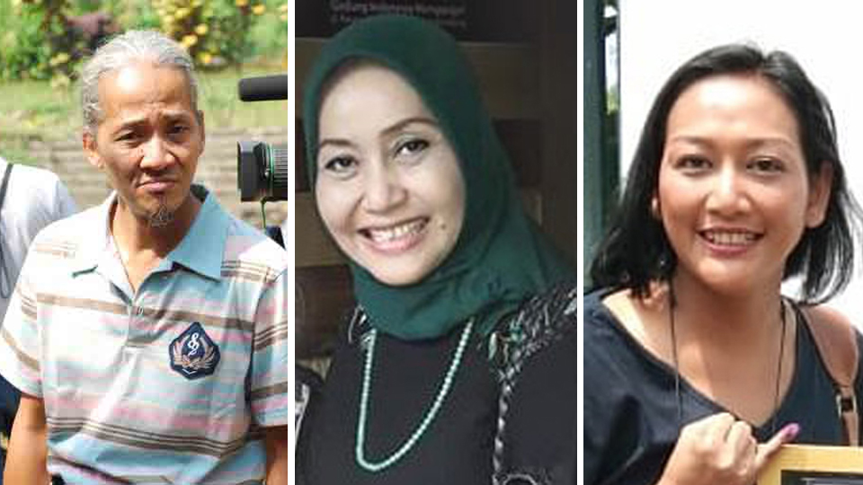 Tiga Anak Rendra di Sastra Bulan Purnama