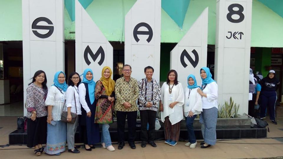 Sukses Edufair SMAN 8 Jakarta Dipuji 9 Delegasi PTN