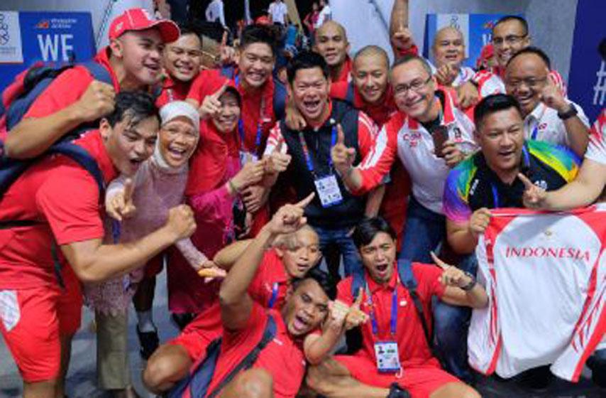 Horeee, Timnas Polo Air SEA Games Sumbang Emas Pertama untuk Indonesia