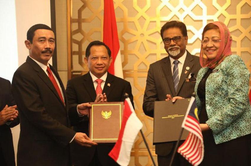 Setelah 41 Tahun,  Akhirnya Indonesia-Malaysia  Capai Kesepakatan Batas Wilayah