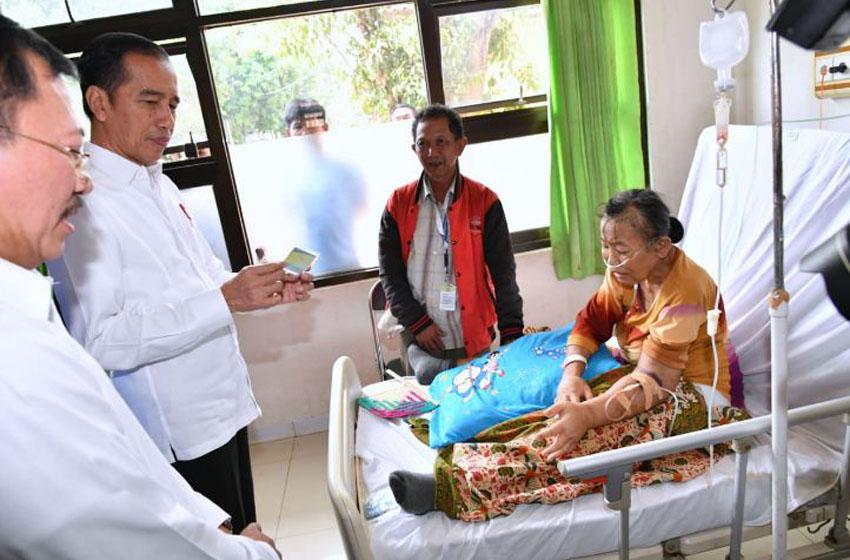 Jokowi Sidak Layanan BPJS di Subang:  Yang Penting  Diperbaiki adalah BPJS bukan Rumah Sakit