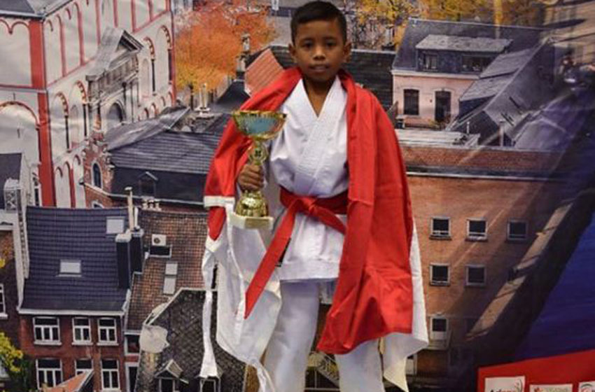 Tim Karate Indonesia berhasil meraih 3 medali emas 1 perak dan 1 perunggu dalam turnamen internasional di 4th edition of International Karate Open of Province de Liege 2019, di Herstal, Belgia, 6-13 November 2019—foto instagram  kemendikbud