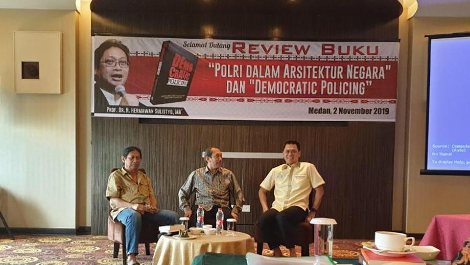 "Antusiasme Medan Bahas ""Polri dalam Arsitektur Negara"""
