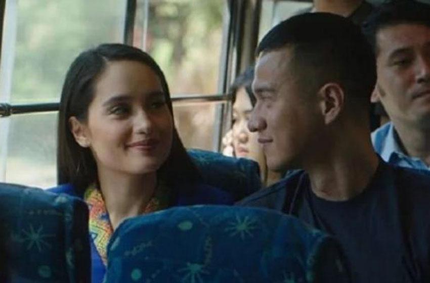 Herjunot Ali dan Cinta Laura dalam film 'Jeritan Malam'–foto istimewa