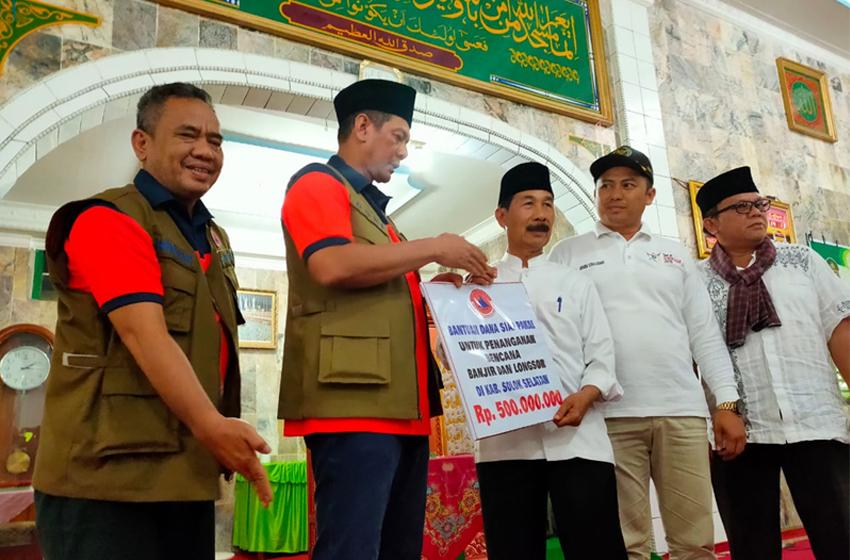 Usai Serahkan Bantuan di Solok Selatan, Doni Monardo ke Sigi Sulteng