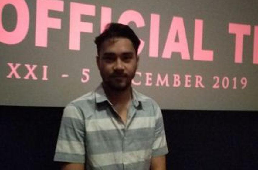 Aktor Ahmad Megantara Doa di Depan Ka'bah Minta Jodoh