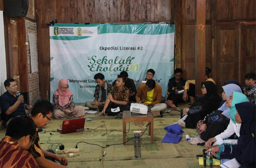 Sekolah Ekologi PP Ikatan Pemuda MUhammadiyah (IPM) di Kulonprogo.