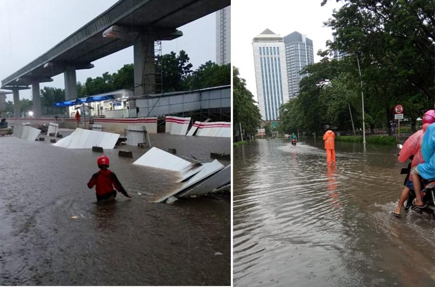 BPBD Jakarta Cegah Banjir Masuk Istana