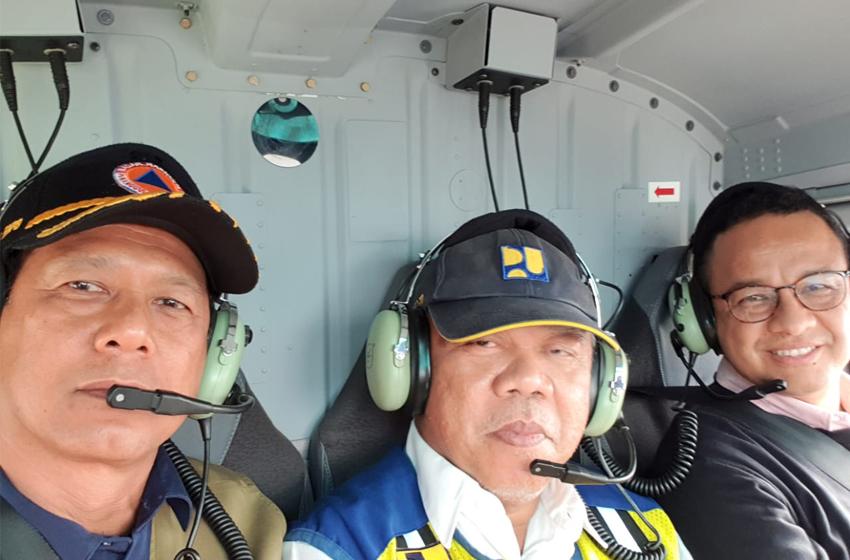 Doni Monardo Ajak Gubernur dan Menteri Tinjau Banjir